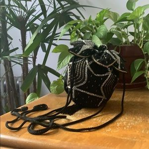 Handbags - Vintage beaded crossbody bag